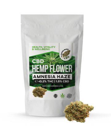Amnesia Haze CBD Hemp Flowers & CBD Weed Buds