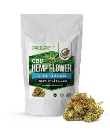 Blue Dream CBD Cannabis Hemp Flowers & CBD Weed Buds