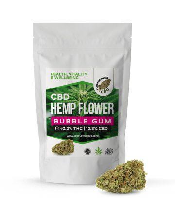 Bubble Gum CBD Hemp Flowers & CBD Weed Buds