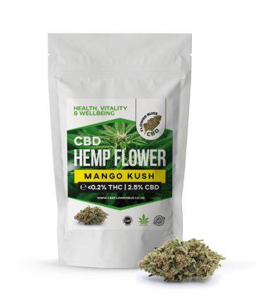 Mango Kush CBD Cannabis Hemp Flowers & CBD Weed Buds