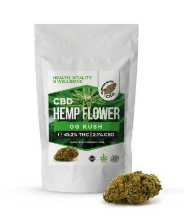 OG Kush CBD Cannabis Hemp Flowers & CBD Weed Buds