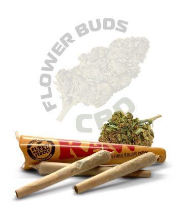 Strawberry Pre-Rolled CBD Joints & Spliffs image 1