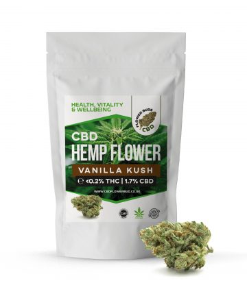Vanilla Kush CBD Cannabis Hemp Flowers & CBD Weed Buds