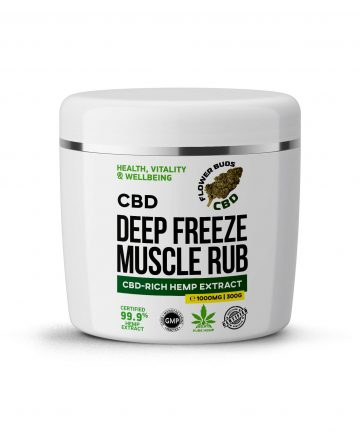 CBD Balm Rub | CBD Muscle Rub | Fast Acting Relief | Back Pain & Joints - 1000MG - 100G
