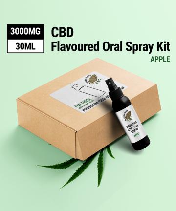 CBD Spray - Apple Flavour - 1500 MG