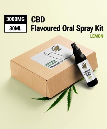 CBD Hemp Spray Lemon Flavour 1500 MG Instant Relief