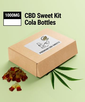 CBD Cola Bottles | 1000MG | CBD Sweets UK